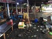 """Khởi tố nhóm côn đồ đập phá quán ăn Bảo Châu khi bị tố """"chặt chém"""" đánh khách chảy máu đầu"""