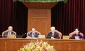 Hình ảnh Tổng Bí thư chủ trì phiên khai mạc Hội nghị TƯ 10