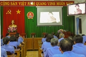VKSND Tây Ninh chiếu phim tài liệu kỷ niệm ngày sinh nhật Bác