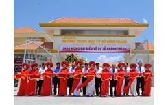 Agribank Tổ chức lễ khánh thành các công trình giao thông nông thôn và giáo dục tại Long An