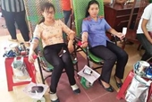Cán bộ, Kiểm sát viên VKSND huyện Krông Pa tham gia hiến máu cứu người