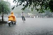 Miền Bắc có thể mưa to và rất to, hạ nhiệt sau đợt nắng nóng kỷ lục