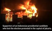 Thủ đô Jakarta chìm trong khói lửa vì biểu tình bạo lực