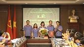 Công bố quyết định lập Đảng bộ cơ sở Báo Bảo vệ pháp luật