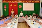 Đoàn cán bộ cấp ủy, chính quyền địa phương làm việc với VKSND hai cấp tỉnh Tây Ninh