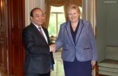 Thủ tướng Nguyễn Xuân Phúc hội đàm và hội kiến các nhà lãnh đạo Vương quốc Na Uy