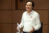 Bộ trưởng Phùng Xuân Nhạ nhận trách nhiệm về yếu kém của ngành Giáo dục