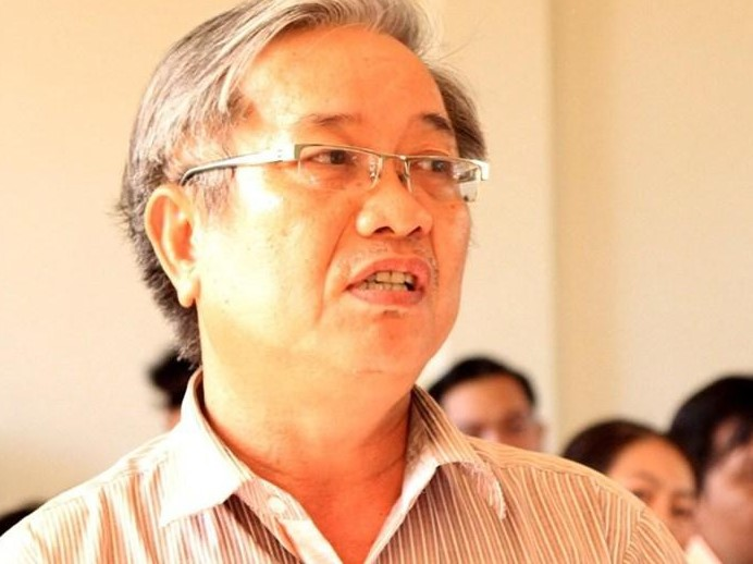 Ông Bùi Quang Ánh, nguyên Giám đốc Trung tâm kỹ thuật tài nguyên môi trường