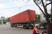 Công an thông tin vụ nghi vấn xe container gây chết người rồi bỏ mặc