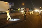 Truy tìm chiếc xe container cán chết hai nam thanh niên rồi bỏ chạy