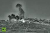 Israel công bố video không kích, thổi bay mục tiêu quân sự Syria