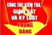 Quận ủy Sơn Trà Đà Nẵng  Qua kiểm tra, giám sát thi hành kỷ luật 48 đảng viên