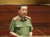 Bộ trưởng Công an Tô Lâm trả lời chất vấn về vụ gian lận thi cử ở Hà Giang, Hoà Binh, Sơn La