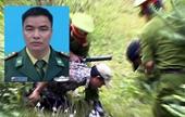 Truy bắt tội phạm ma túy, Thiếu tá Bộ đội Biên phòng anh dũng hy sinh