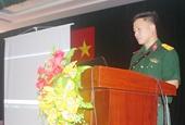 VKSQS Khu vực 23 tuyên truyền pháp luật cho quân nhân