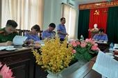 VKSND tỉnh Nghệ An kiểm sát việc tạm giữ, tạm giam và thi hành án phạt tù