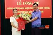 VKSND tỉnh Lạng Sơn có nữ Phó Viện trưởng mới