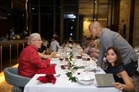 """David Rocco khiến thực khách xuýt xoa với món """"phở Việt-Ý"""" trong đêm tiệc giao lưu văn hóa"""