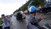3 vụ tai nạn giao thông xảy ra cùng lúc, giao thông Bắc- Nam ách tắc