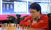 Quang Liêm vươn lên nhóm ba giải cờ vua châu Á