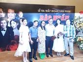 Ra mắt đoàn làm phim Bão ngầm của Trung tá, nhà văn Đào Trung Hiếu