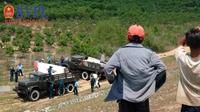 Vụ máy bay quân sự rơi ở Khánh Hòa qua lời kể của nhân chứng
