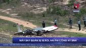 Rơi máy bay quân sự, hai phi công hy sinh