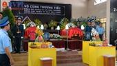 Xúc động Lễ truy điệu 2 phi công hy sinh ở Khánh Hòa