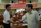 Viện trưởng Lê Minh Trí tiếp xúc cử tri tại TP Hồ Chí Minh