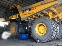 Tai nạn hy hữu Một công nhân Công ty than Hà Tu bị lốp xe đè tử vong