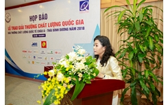 Bộ Khoa học và Công nghệ trao Giải Vàng Chất lượng Quốc gia cho Tập đoàn Tân Hiệp Phát