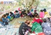 Hàng chục kiều nữ tham gia sát phạt trên chiếu bạc trong vườn trái cây
