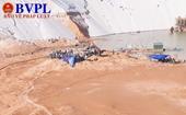 Sụt cát khi khai thác titan 5 người thương vong