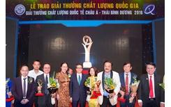 """CEO Trần Quí Thanh """"Giải Vàng Chất lượng quốc gia khẳng định doanh nghiệp sản xuất, kinh doanh sản phẩm, dịch vụ đẳng cấp thế giới"""""""