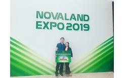 Thẻ thành viên Novaloyalty Trao tay hàng ngàn khách hàng tại Novaland Expo 2019
