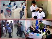 Nữ điều dưỡng Trung tâm y tế bị hành hung phải nhập viện