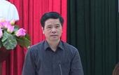 Bí thư huyện Phúc Thọ bị cách hết các chức vụ trong Đảng