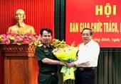 Đại tá Nguyễn Văn Man giữ chức Phó Tư lệnh Quân khu 4