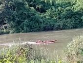 Cứu vợ con bị lật xuồng trên sông Đồng Nai, chồng mất tích