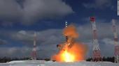 Nga gây sốc khi lần đầu hé lộ uy lực khủng khiếp của siêu ICBM Sarmat
