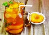 Xua tan nắng nóng với cách làm trà đào tại nhà tuyệt ngon