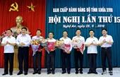 Ban Bí thư Trung ương Đảng chỉ định 6 lãnh đạo sở, địa phương tham gia BCH Đảng bộ Nghệ An