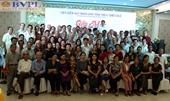 Cán bộ hưu trí VKSND Bình Trị Thiên gặp mặt sau 30 năm chia tách tỉnh