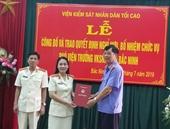 VKSND tỉnh Bắc Ninh có 2 tân Phó Viện trưởng