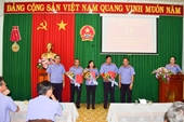 Bổ nhiệm, bổ nhiệm lại lãnh đạo cấp phòng VKSND tỉnh Tây Ninh