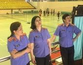 Công tác chuẩn bị cho Giải thể thao ngành Kiểm sát nhân dân lần thứ IX tại Bắc Ninh