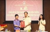Viện trưởng VKSNDTC Lê Minh Trí trao quyết định bổ nhiệm Vụ trưởng Vụ 3