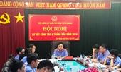VKSND tỉnh Tuyên Quang xây dựng bộ máy tinh gọn, hoạt động hiệu lực, hiệu quả