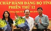 Ban Bí thư chỉ định 7 thành viên Ban Chấp hành Đảng bộ tỉnh Bắc Giang