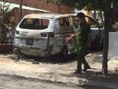 Điều tra nghi vấn quán cà phê bị ném bom xăng cháy rụi